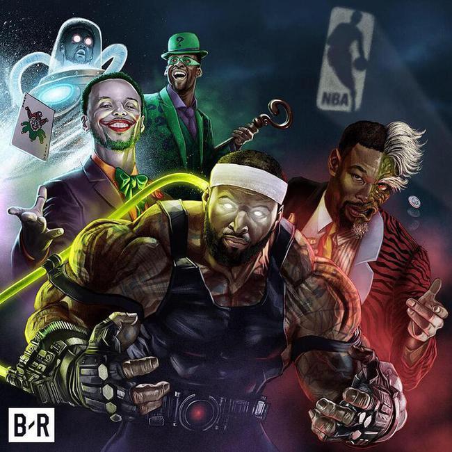 NBA今日大结局!这5人凑在一起能把蝙蝠侠逼疯