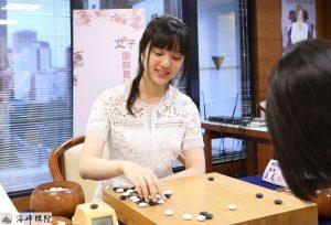 俞俐均拿下第四届女子围棋最强战冠军