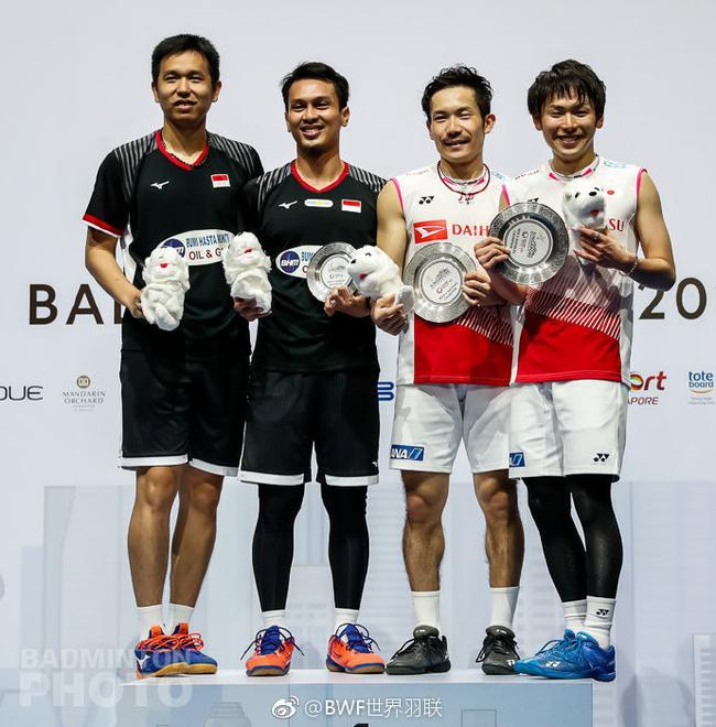 日本组合男双夺冠
