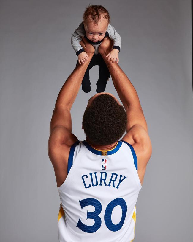 库里与小儿子