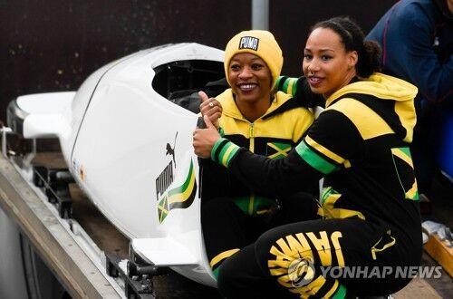牙买加首支女子雪车队
