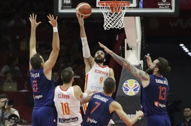 塞尔维亚不敌西班牙