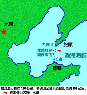 从北京到大钦岛