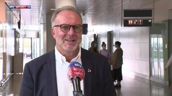 鲁梅尼格:拜仁1人没怎么被生吃过 防梅西会很有趣