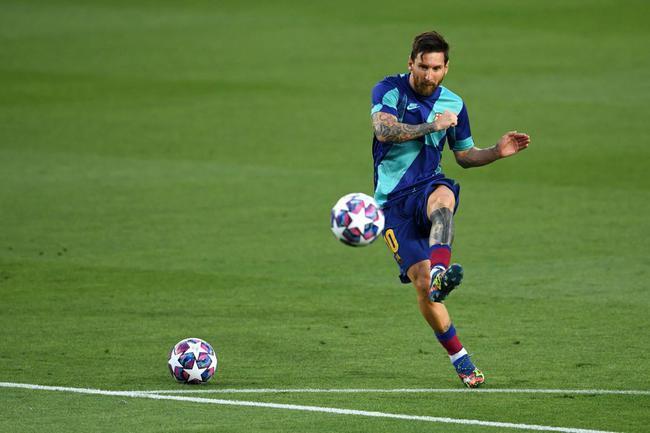 欧冠-梅西一条龙+进球无效+造点 巴萨主场3-1晋级