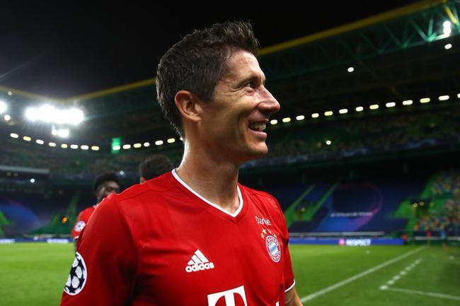 欧冠-莱万9连斩格纳布里2球 拜仁3-0十连胜进决赛