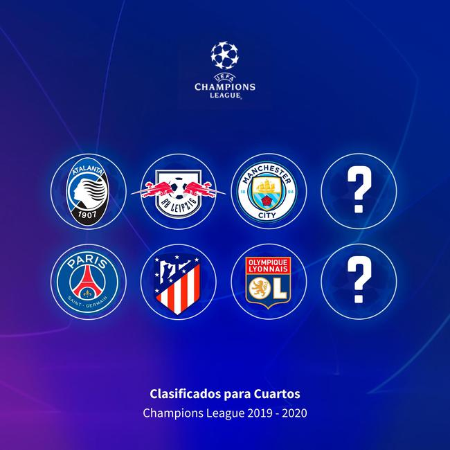 奇!欧冠八强竟有6队从未夺过冠 曼城机会来了?