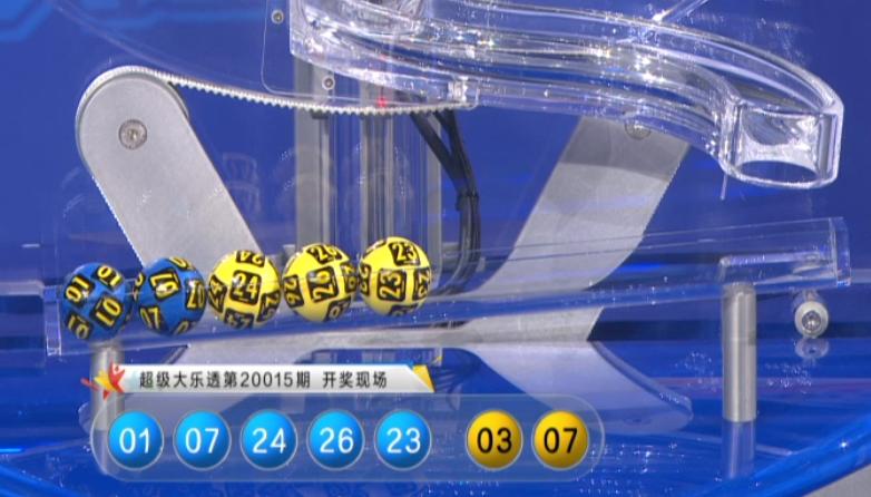 [公益彩票]明皇大乐透第20016期:后区奇号火爆