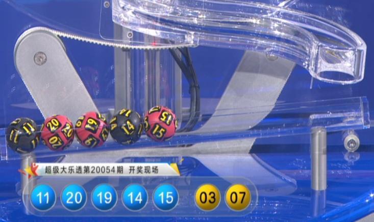 [公益彩票]赢四方大乐透第20055期:后区独胆02