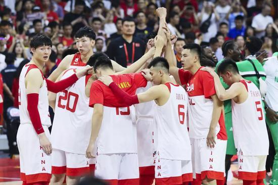 首秀就刚NBA球星阵容!中国男篮赛程出炉!