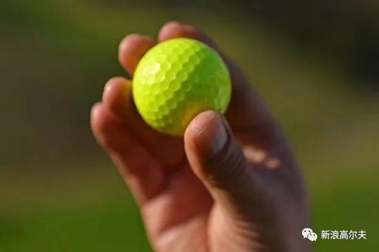 凯文-庞当时使用的高尔夫球