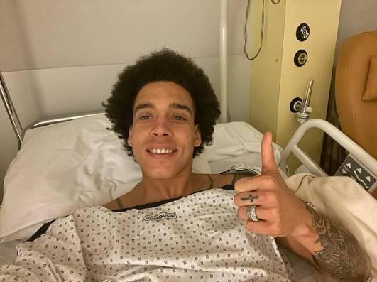 维特塞尔报平安:手术非常成功 更强大姿态回来