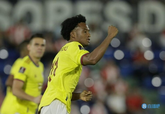 传奇!夸德拉多为哥伦比亚出场103次 排名队史第三