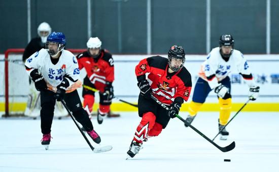 冰球女将全力以赴奔冬奥:目标明确 奋斗500天