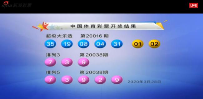 前区开最大码35 大乐透头奖3注1000万分落3地