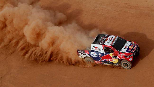 卡塔尔车手阿尔-阿提亚拿到SS11赛段冠军