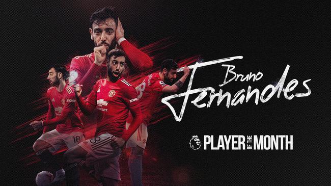 B费当选英超12月最佳球员