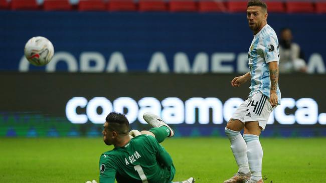 阿根廷赢球