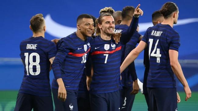 法国队夺冠赔率1赔3.75为最低