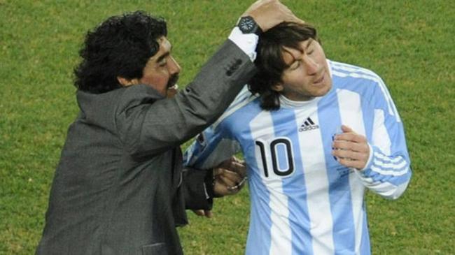 【球员】名宿:马拉多纳若活着  定会为梅西夺美洲杯而高兴