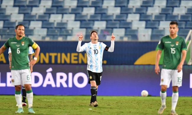 梅西助阿根廷大胜
