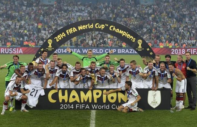 2014年的德国,拜仁球员占主体