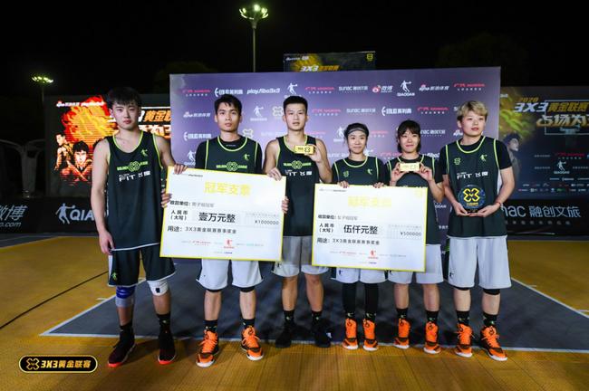 小秘书队3X3黄金联赛南昌站夺冠 融创文旅助力赛事精彩纷呈
