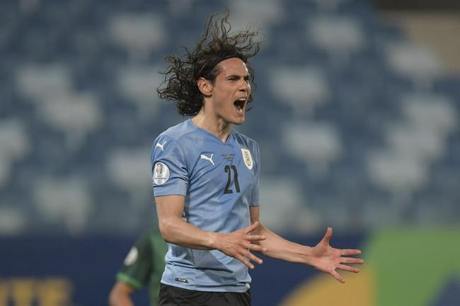 乌拉圭赢球出线